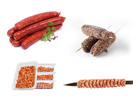 Supermarkt Marmaris heeft een eigen islamitische slagerij met halal vlees.